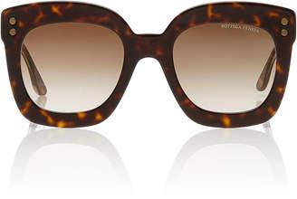 b8a68093bbe Bottega Veneta Sunglasses Tortoiseshell Square-Frame Acetate Sunglasses