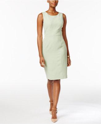 Kasper Seamed Sheath Dress $89 thestylecure.com