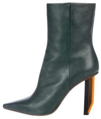 Vetements 2016 Reflector High-Heel Boots