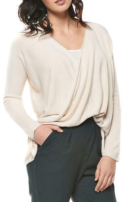 Dex Draped Front Sweater