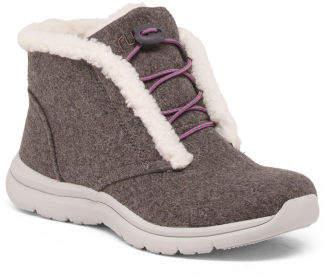 Comfort Sneaker Booties
