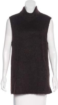 Bottega Veneta Alpaca & Wool Sleeveless Top