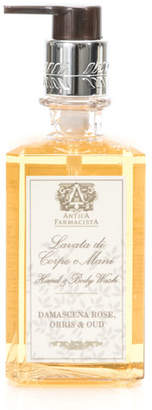 Antica Farmacista Damascena Rose, Orris & Oud Hand & Body Wash, 10 oz.