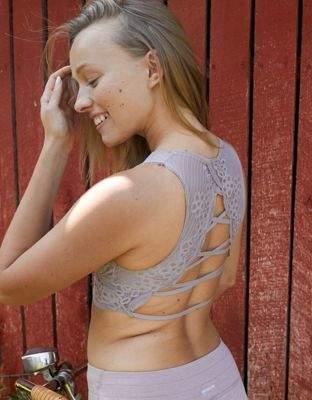 aerie Wonder Lace Strappy Back Bralette