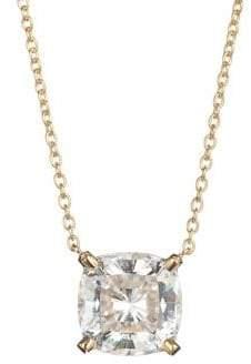 Crislu Bliss 18K Gold Cubic Zirconia Pendant Necklace