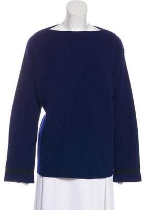Haider Ackermann Rib Knit Wool Sweater