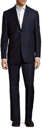Saks Fifth Avenue Slim Fit Multi Stripe Wool Suit