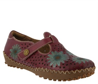 Spring Step L'Artiste by Leather Slip-On Shoes- Minna