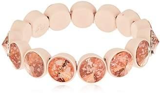 Betsey Johnson Marie Antoinette Rivoli Stone Stretch Bracelet