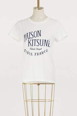 MAISON KITSUNÉ Palais Royal cotton T-shirt