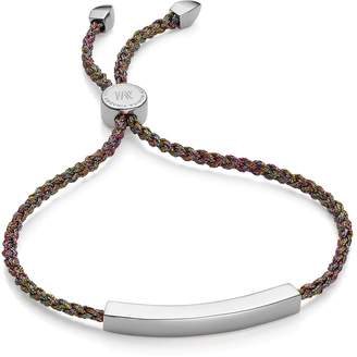 Monica Vinader Rainbow Metallica Linear Friendship Bracelet