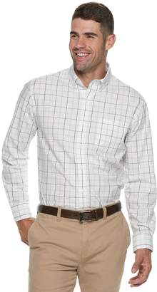 Croft & Barrow Men's Classic-Fit Patterned Button-Down Shirt