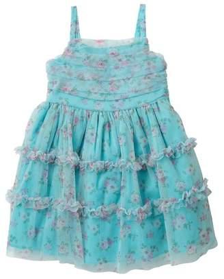 Iris & Ivy Floral Tulle Dress (Little Girls)