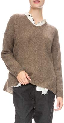 Pas De Calais Knit Yak Pullover Sweater
