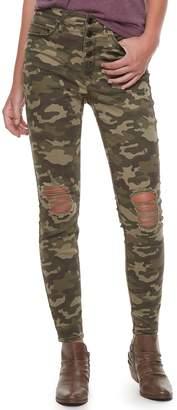 Mudd Juniors' High-Waisted Skinny Pants