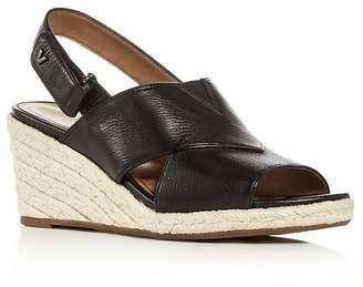 Vionic Women's Zamar Slingback Platform Wedge Espadrille Sandals