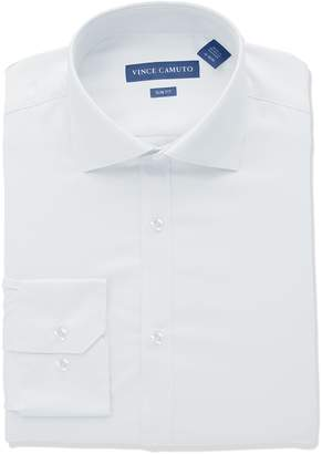 Vince Camuto Men's Slim Fit Stretch Collar Performance Solid Dress Shirt