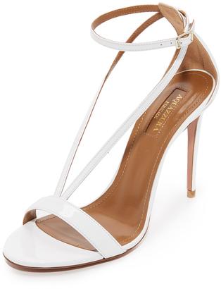 Aquazzura Casanova Sandals $675 thestylecure.com