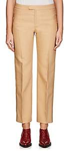 Chloé Women's Virgin Wool-Blend Suiting Twill Straight Trousers - Camel