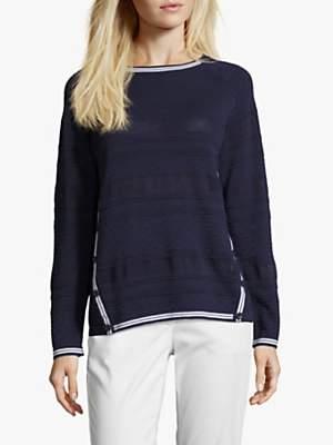 Betty Barclay Fine Textured Knit Jumper, Peacoat Blue