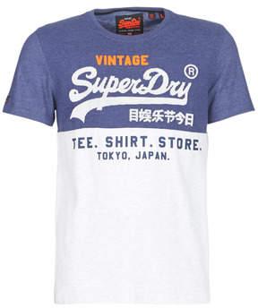 Superdry SHIRT SHOP TRI PANEL TEE