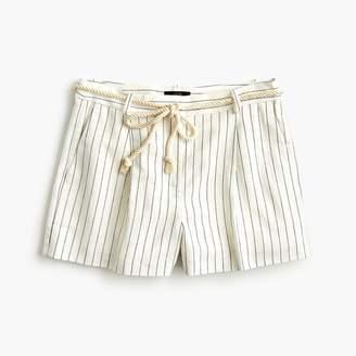 J.Crew Rope-waist pleated shorts