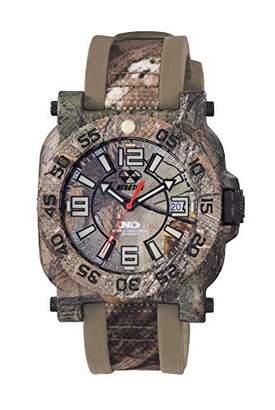 REACTOR Men's 'Gryphon' Swiss Quartz Stainless Steel and Rubber Sport Watch