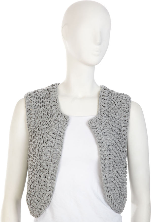 Leroy & Perry Hand Knit T-Shirt Vest