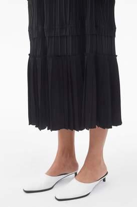 3.1 Phillip Lim Pleated V-Neck Dress