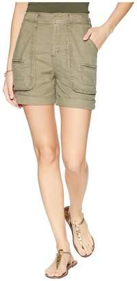 Splendid Linen Slub Cargo Short Women's Shorts