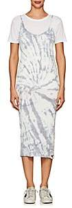 NSF Women's Adana Tie-Dyed Cotton Midi-Dress - Gray
