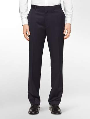 Calvin Klein classic fit navy wool suit pants