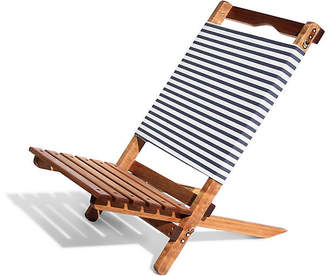 Co Business & Pleasure Llc Laurens Stripe 2-pc Folding Chair - Navy/White