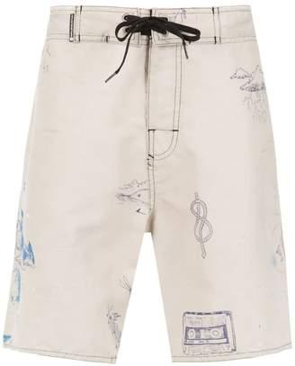 OSKLEN printed swimming shorts