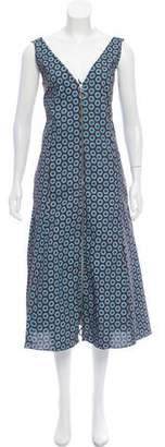Edun Printed Midi Dress