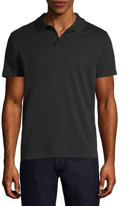 Claiborne Short Sleeve Knit Polo Shirt