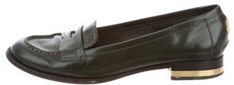 Tory Burch Tory Burch Leather Logo Loafers