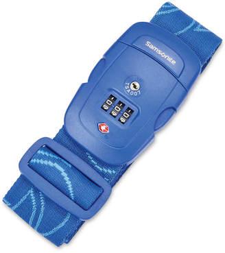 Samsonite 3-Dial Combo Luggage Strap