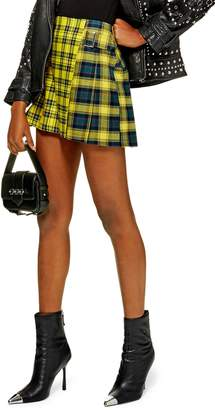 30b47543ebdd at Nordstrom · Topshop Mix Check Kilt Miniskirt