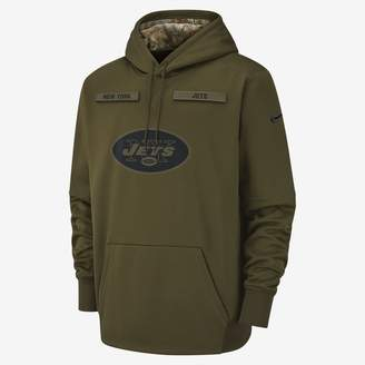 Nike Therma Salute to Service (NFL Jets) Men's Hoodie