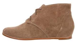 Rebecca Minkoff Round-Toe Suede Ankle Boots