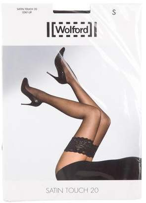 c246ff3b8a6 Wolford Satin Touch 20 Thigh-High Tights w  Tags