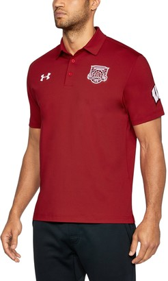 Under Armour Men's Wisconsin UA Playoff Vented Polo