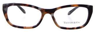Tiffany & Co. Square Tortoiseshell Eyeglasses