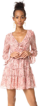 WAYF Evelyn Tiered Mini Dress $108 thestylecure.com