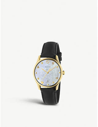 Gucci YA1264044 G-Timeless gold-plated stainless steel