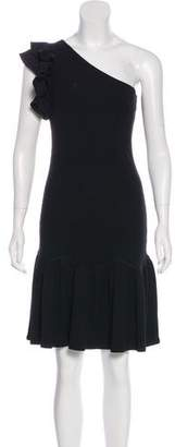 Rebecca Taylor One-Shoulder Knit Dress w/ Tags
