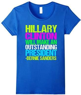 Bernie on Hillary Quote T-Shirt