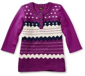 Tea Collection Fair Isle Sweater Dress (Baby Girls & Toddler Girls)