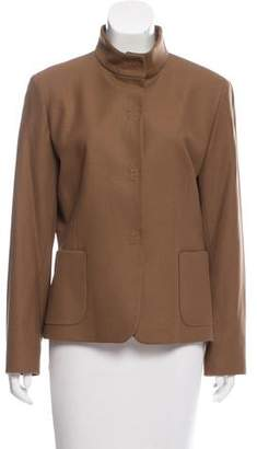 Cinzia Rocca Wool Long Sleeve Jacket